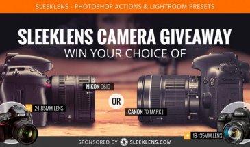 Sleeklens Camera Giveaway