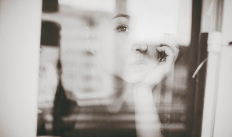 Taking creative photos through windows