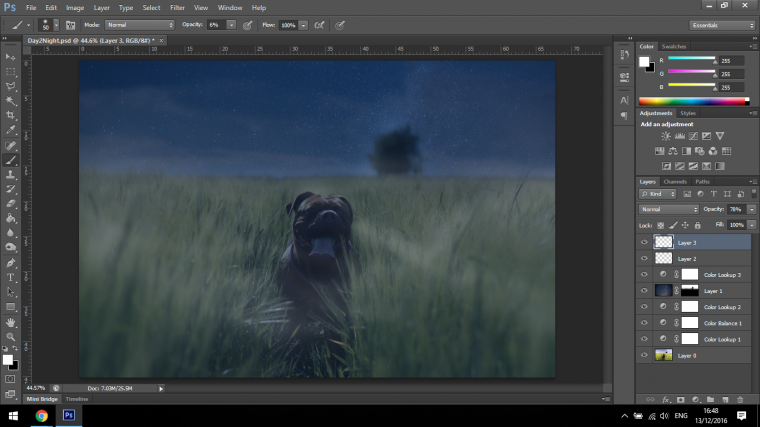 How to Turn Day Scenes into Night Just by Using Adobe Photoshop