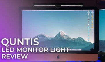 Quntis LED Monitor Light Review: An Alternative to the BenQ Screenbar?