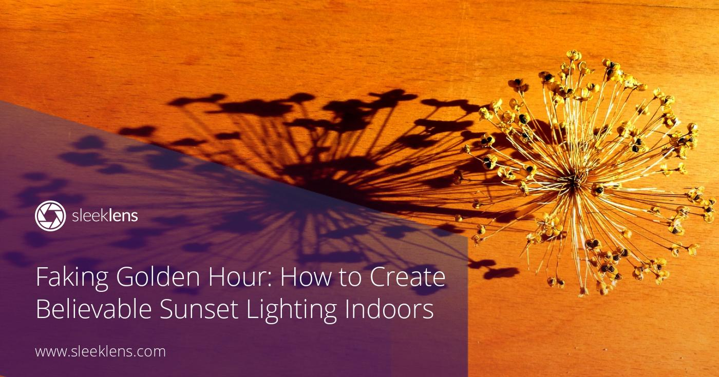 Faking Golden Hour: How to Create Believable Sunset Lighting