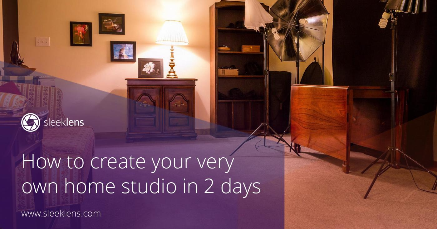 how to create your very own cozy home studio in 2 days