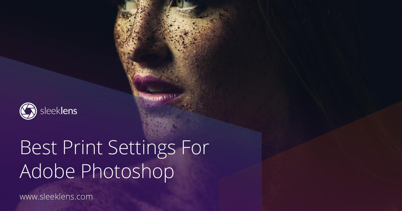 Setting up Images for Print in Adobe Photoshop