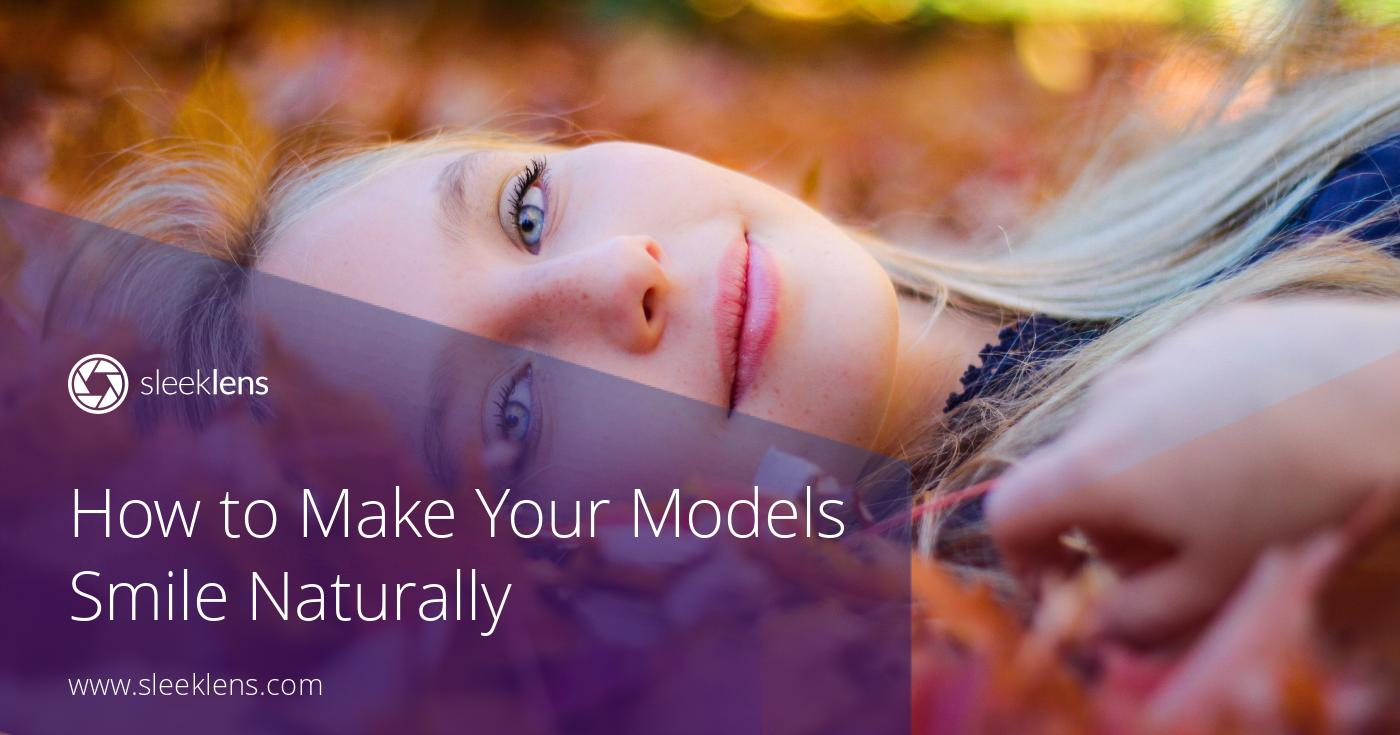 How to Make Your Models Smile Naturally for Portraits