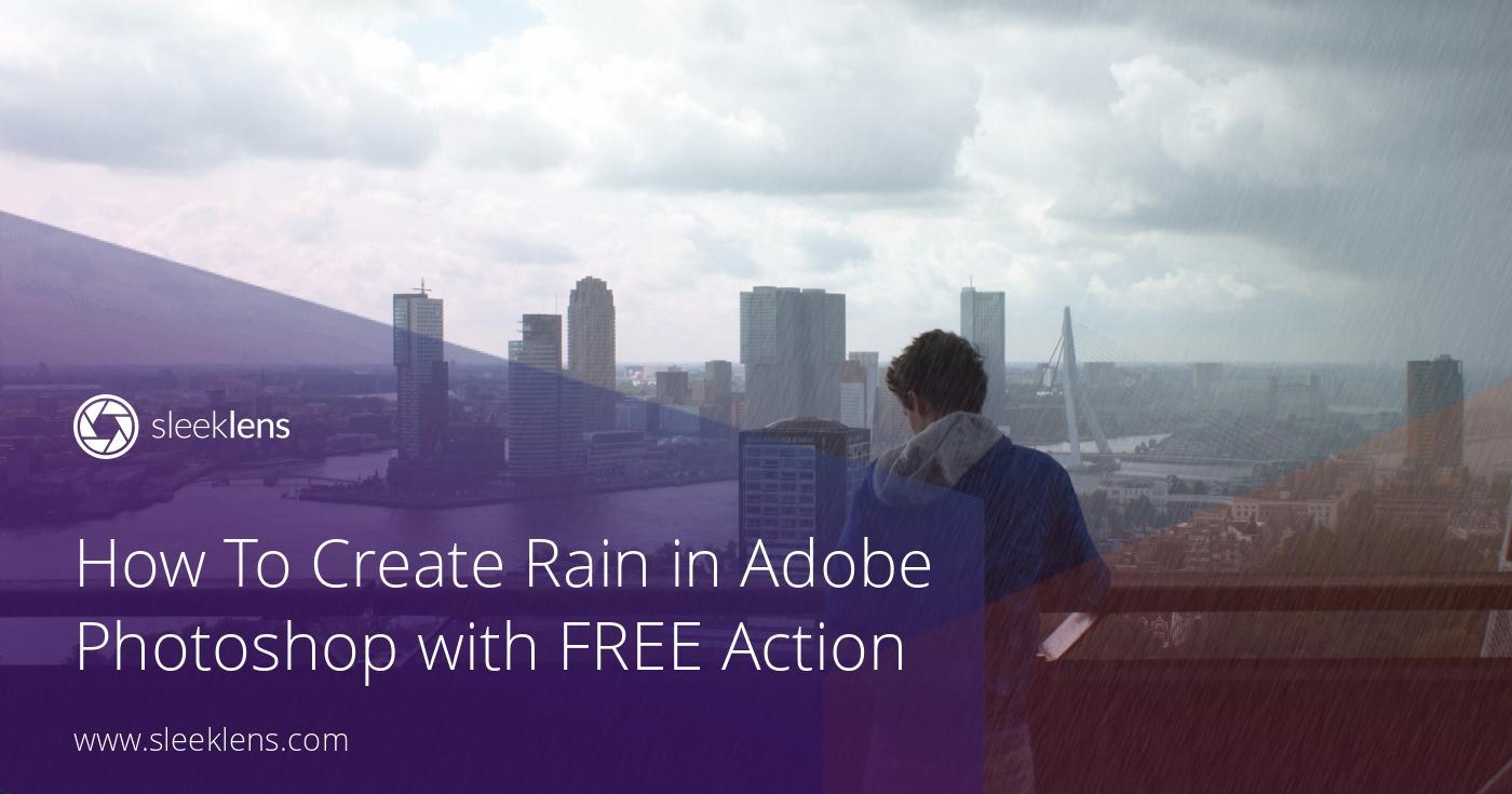 How to Create Rain in Adobe Photoshop